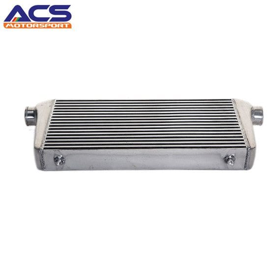 Air to air intercooler core size 600x300x76mm 3″ Inlet & Outlet