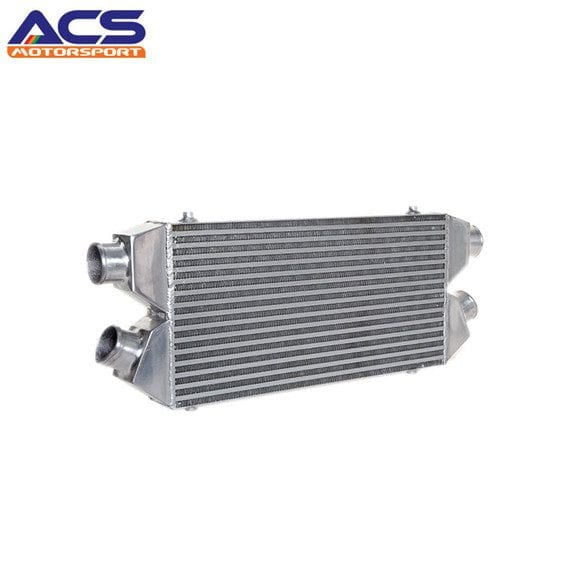 Bar and plate air to air intercooler core size 560*280*76mm 2.5″ Twins Inlet & Outlet