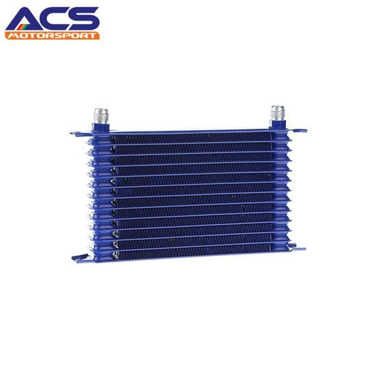 Universal 13 Row AN10 Engine Transmission Trust Oil Cooler