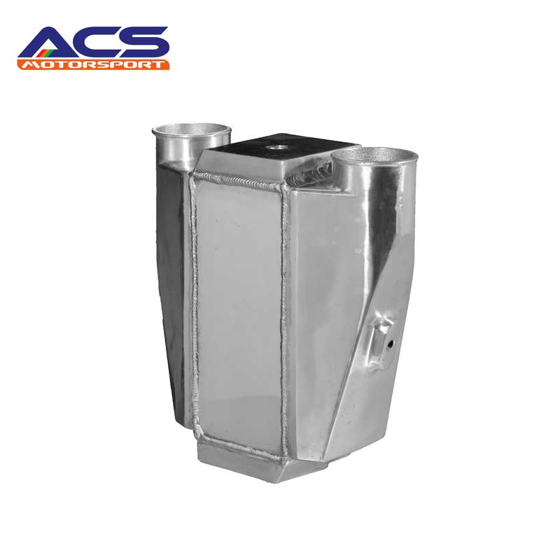 """Universal Liquid/Water to Air Intercooler 245*115*115mm 2.5""""Air Inlet Outlet"""